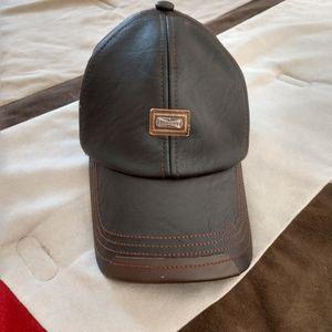 Men's jamont Leather hat